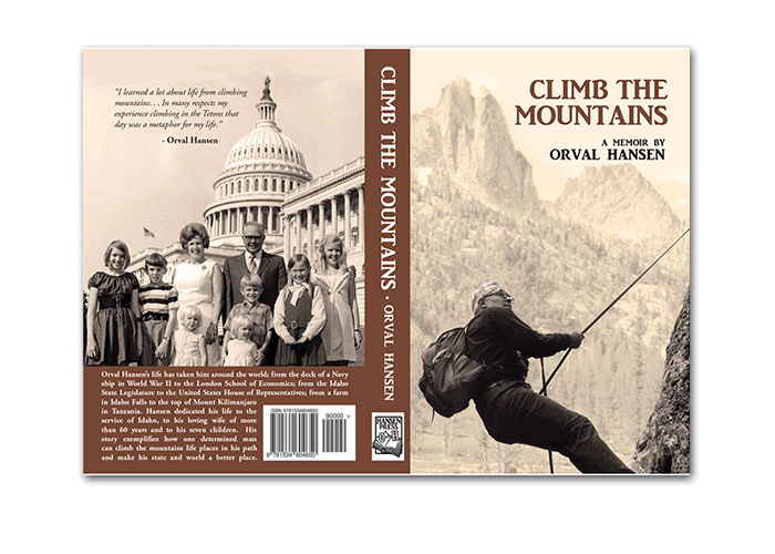 Sample Book Cover - Climb the Mountains - Dorothy Read and Associates