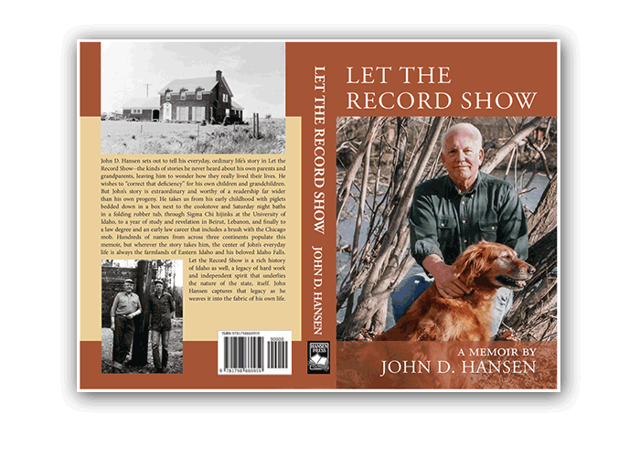 Sample Book Cover - Let the Record Show- Dorothy Read and Associates